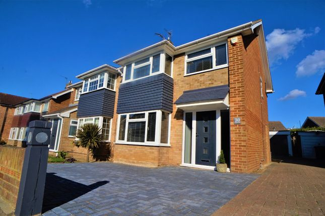 Thumbnail Semi-detached house to rent in Windhover Way, Gravesend, Kent