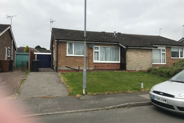 Thumbnail Semi-detached bungalow to rent in Oakfield Avenue, Markfield