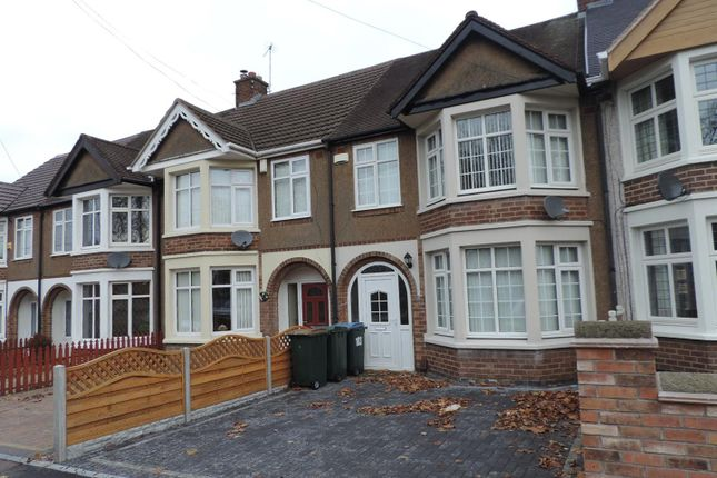 Thumbnail Terraced house to rent in Momus Boulevard, Poets Corner, Coventry