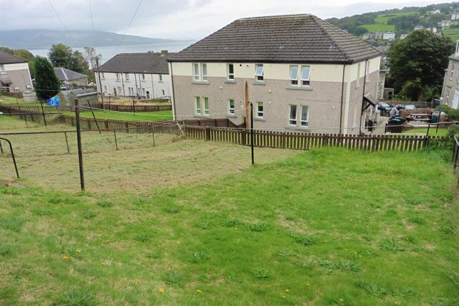 Garden of 6 Longhill Terrace, Rothesay, Isle Of Bute PA20