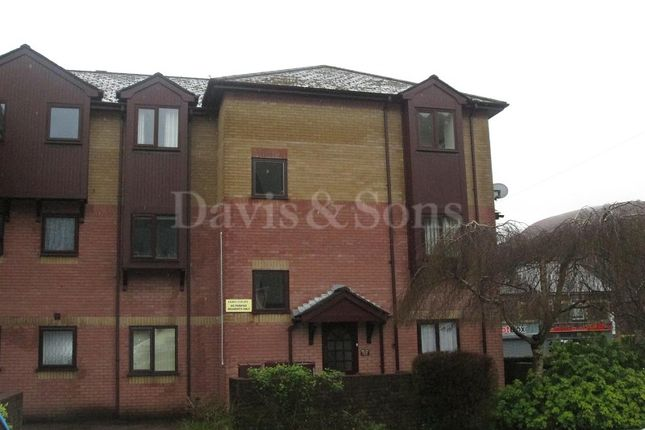 Thumbnail Flat for sale in Ebbw Court, Woodward Road, Cross Keys, Newport.