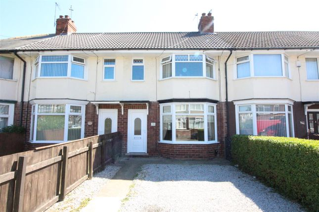 Thumbnail Terraced house for sale in Woodlands Road, Hull