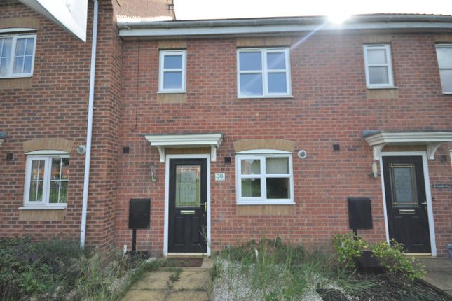 Thumbnail Town house to rent in Castilla Place, Stretton, Burton-On-Trent