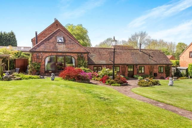 Thumbnail Barn conversion for sale in Shenstone, Kidderminster, Worcestershire, England