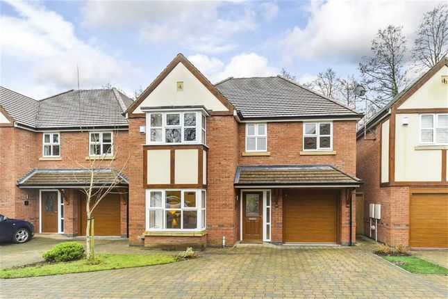Thumbnail Detached house for sale in Woodlands Close, Solihull