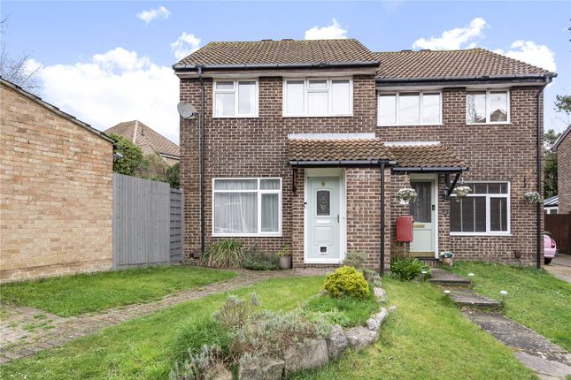 Thumbnail Semi-detached house for sale in Allbrook Knoll, Allbrook, Hampshire