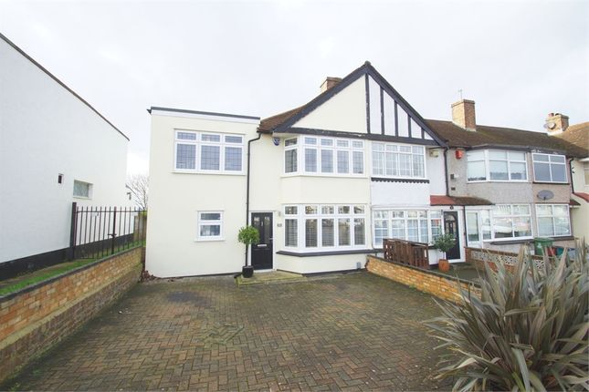 Thumbnail End terrace house to rent in Harcourt Avenue, Sidcup, Kent