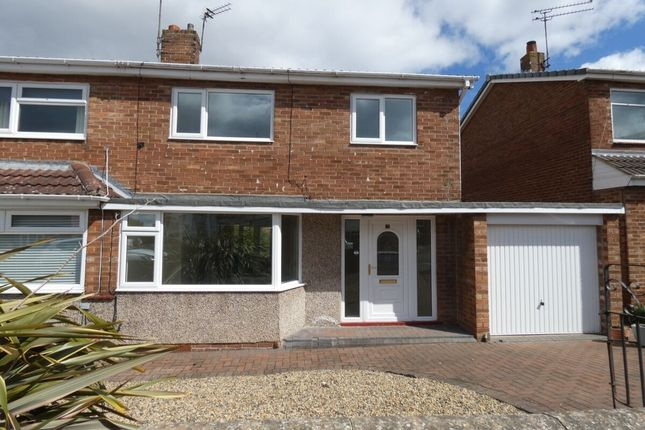 3 bed semi-detached house to rent in Boulmer Close, Newcastle Upon Tyne NE3