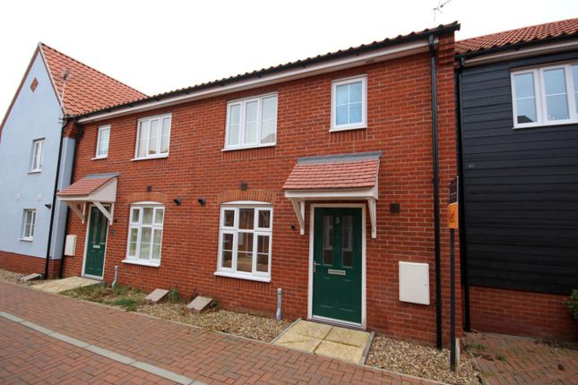 Thumbnail Terraced house to rent in Blake Walk, Bury St. Edmunds