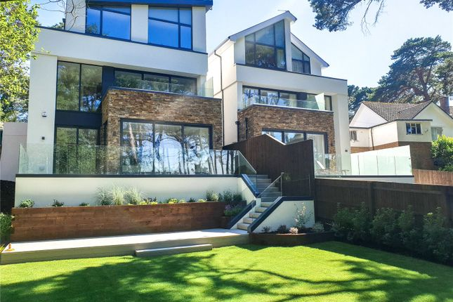Thumbnail Detached house for sale in Dornie Road, Canford Cliffs, Poole, Dorset
