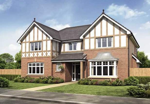 Thumbnail Detached house for sale in Kings Close, Staining