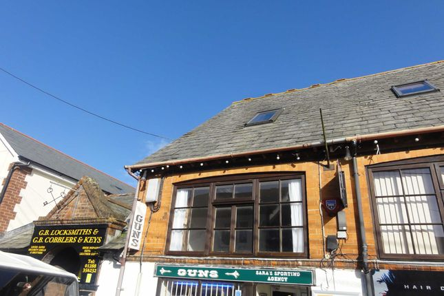 Thumbnail Flat to rent in Belle Vue Avenue, Bude