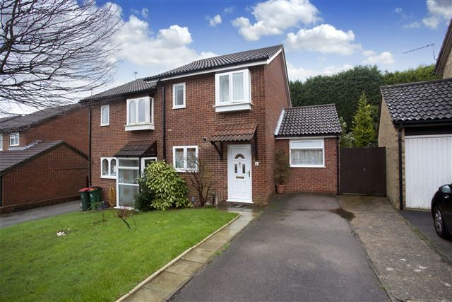 Thumbnail Semi-detached house to rent in Wye Close, Pease Pottage, Crawley