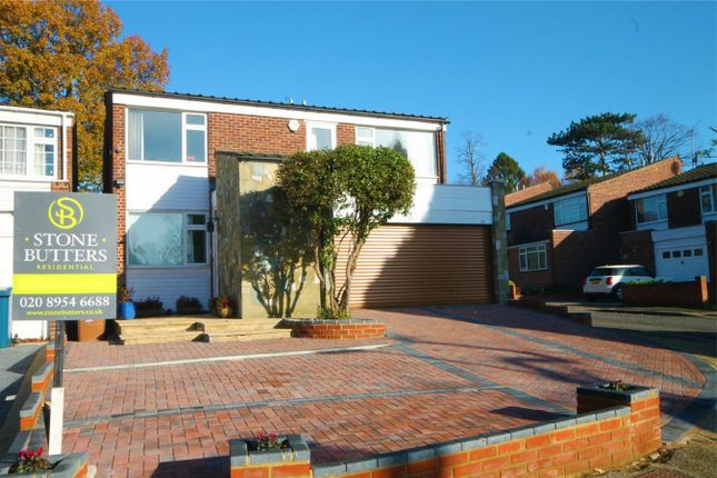 Thumbnail Detached house to rent in Kynaston Wood, Harrow Weald, Middlesex