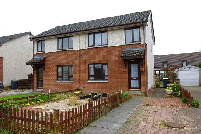 Thumbnail Semi-detached house for sale in 23 Simpson Gardens, Dumfries