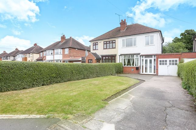 Thumbnail Semi-detached house for sale in Stafford Road, Coven Heath, Wolverhampton