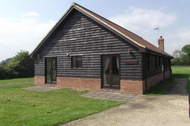 Thumbnail Bungalow to rent in Halesworth Road, Ilketshall St. Lawrence, Beccles