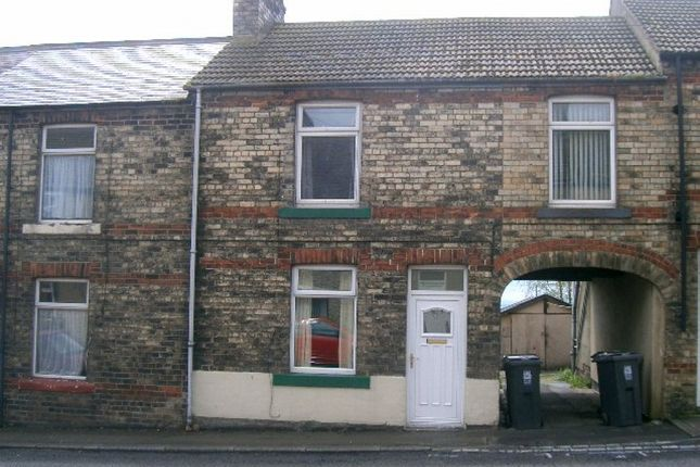 Thumbnail Terraced house to rent in Front Street, Sunniside, Bishop Auckland