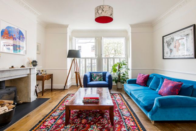Thumbnail Town house to rent in Carminia Road, London
