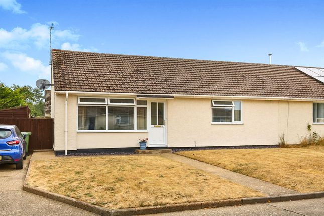 Thumbnail Semi-detached bungalow for sale in Penny Croft, Wicken Green Village, Fakenham