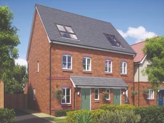 Thumbnail Semi-detached house for sale in Plot 97, Coseley Road, Bilston, West Midlands
