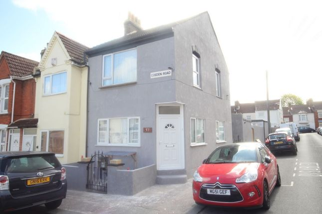 Thumbnail End terrace house for sale in Cobden Road, Chatham