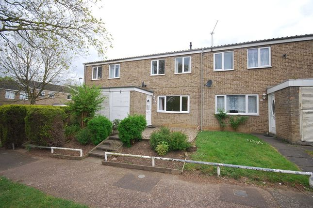 Thumbnail Terraced house to rent in Mother Julian Close, Thetford