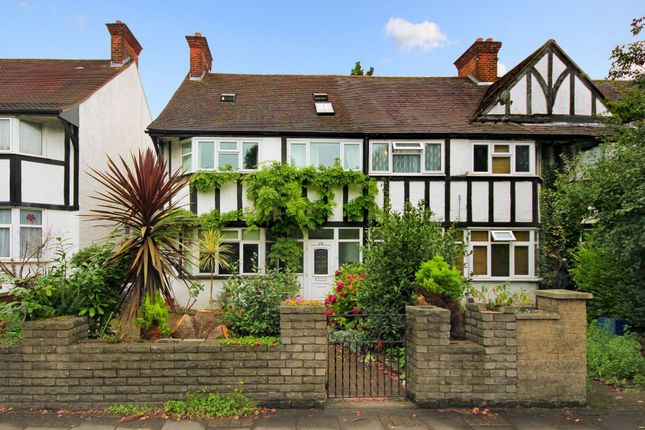 Thumbnail End terrace house to rent in Gunnersbury Avenue, London