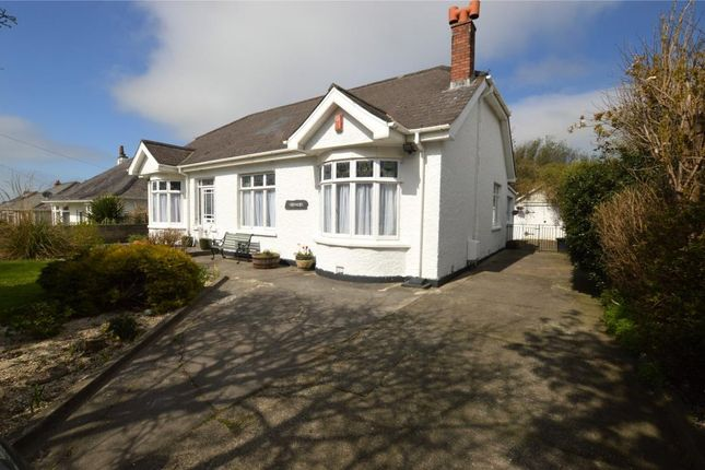Thumbnail Detached bungalow for sale in Treswithian Road, Camborne, Cornwall