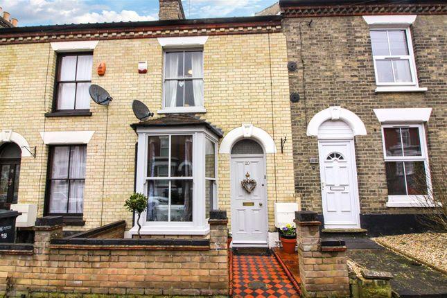 Thumbnail Terraced house for sale in Bury Street, Norwich