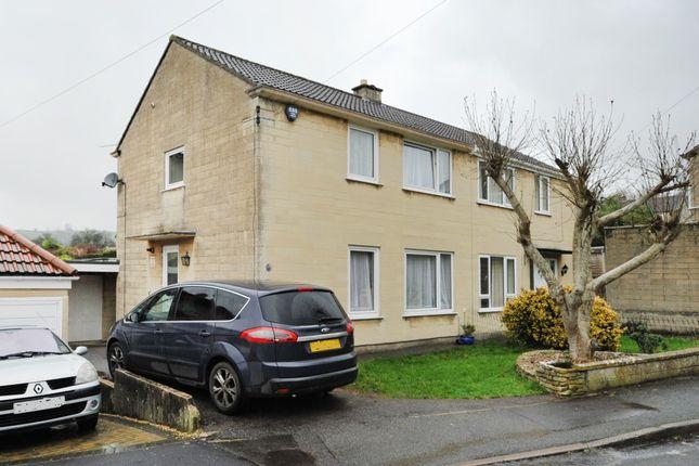 Thumbnail Semi-detached house to rent in Greenacres, Bath