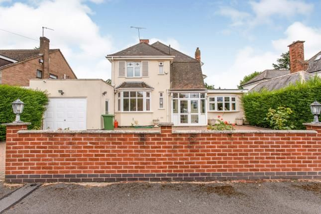 Thumbnail Detached house for sale in Monsell Drive, Aylestone, Leicester, Leicestershire