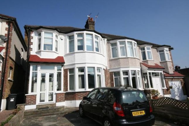 Thumbnail Semi-detached house to rent in Beechdale, Winchmore Hill, London