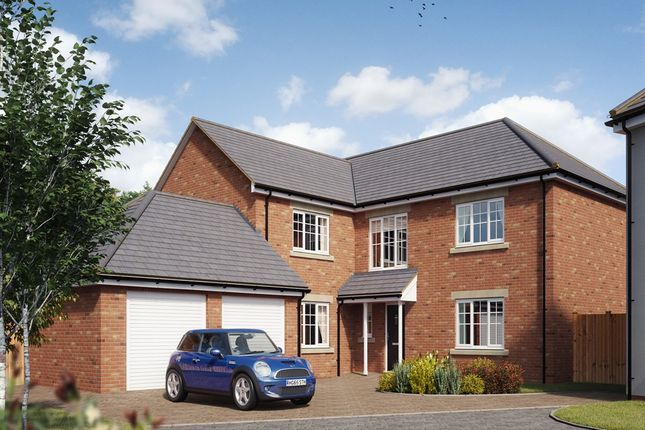 "Thumbnail Detached house for sale in ""The Albermarle "" at Ashford Hill Road, Ashford Hill, Thatcham"