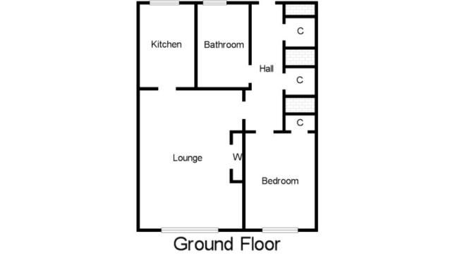 Floorplan of Capelrig Drive, Calderwood, East Kilbride, South Lanarkshire G74
