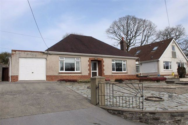 Thumbnail Detached bungalow for sale in Mynachlog Terrace, Pontyberem, Llanelli
