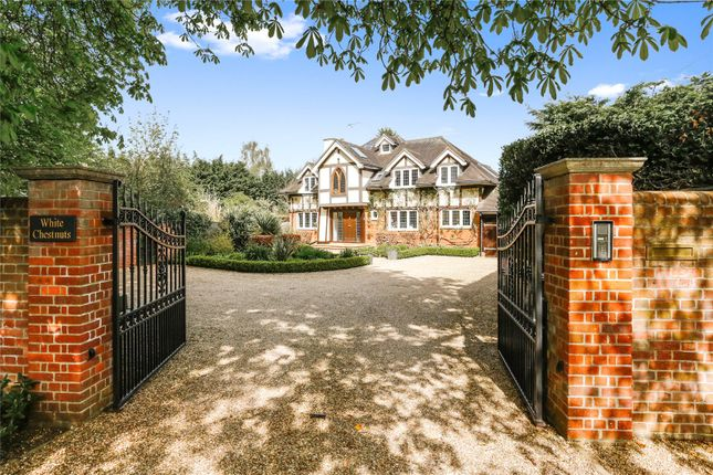 Thumbnail Detached house for sale in Bisham Road, Marlow, Buckinghamshire