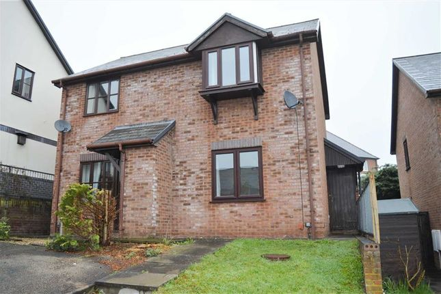 Thumbnail Semi-detached house to rent in 4, Campion Close, Llanllwchaiarn, Newtown, Powys