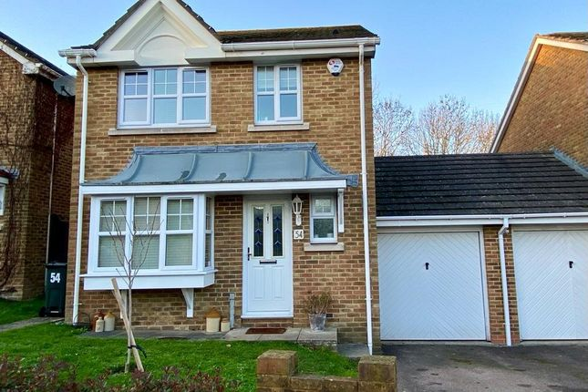 Thumbnail Detached house for sale in Page Close, Bean, Dartford, Kent
