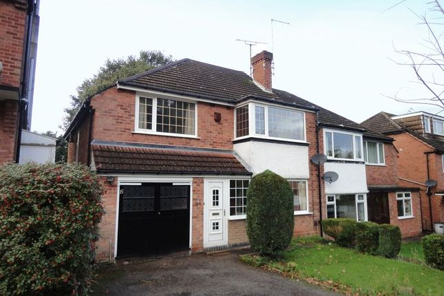 Thumbnail Semi-detached house to rent in Wychall Park Grove, Kings Norton, Birmingham