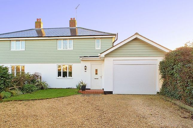 Thumbnail Semi-detached house for sale in Summersdale Road, Chichester