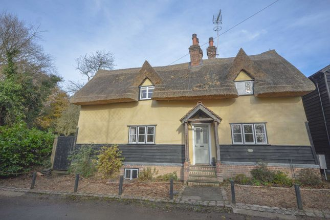 Thumbnail Link-detached house for sale in Aspenden, Buntingford