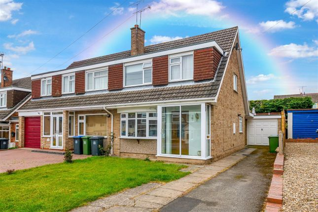 Thumbnail Semi-detached house for sale in St. Martins Avenue, Studley