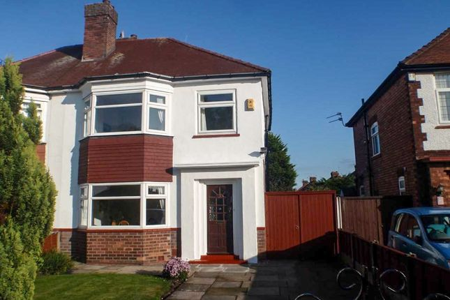 Thumbnail Semi-detached house for sale in Leybourne Avenue, Southport