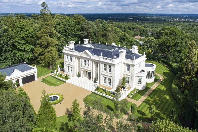 Detached house for sale in Tor Lane, St George's Hill, Weybridge, Surrey