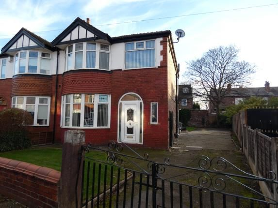 Thumbnail Semi-detached house for sale in Northleigh Road, Firswood, Manchester, Greater Manchester