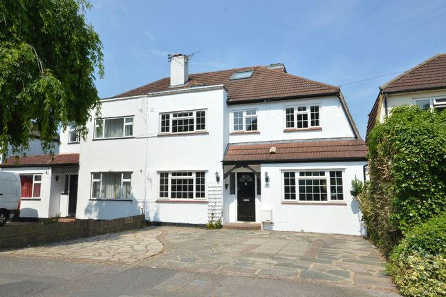Thumbnail Semi-detached house to rent in Grafton Road, Worcester Park, Surrey.
