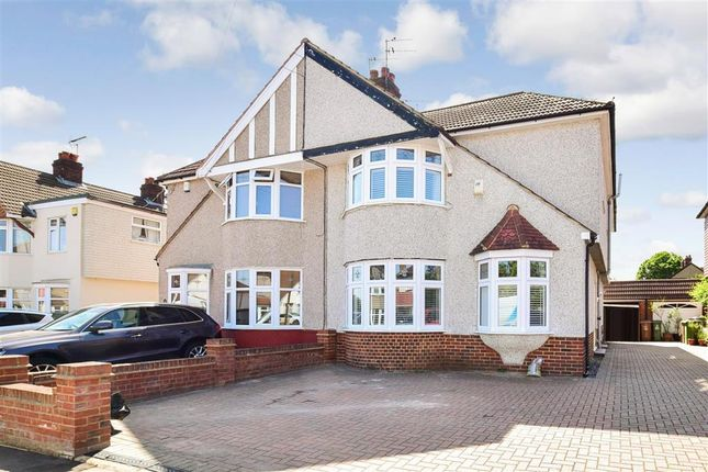 Thumbnail Semi-detached house for sale in Ashmore Grove, Welling, Kent