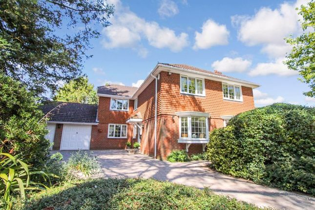 Thumbnail Detached house for sale in Coldeast Way, Sarisbury Green, Southampton