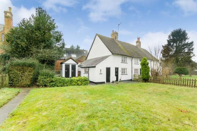 Thumbnail End terrace house for sale in Roxley Cottages, Willian, Letchworth Garden City, Hertfordshire